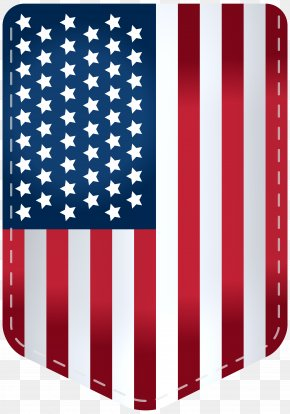 USA Flag Decor Transparent Clip Art Image PNG