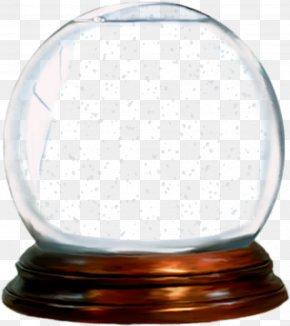 Lamp Glass - Christmas Snow Globe PNG