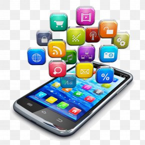 Vector Mobile Phone APP - Mobile App Development Smartphone Application Software Android PNG