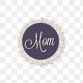 Happy Mothers' Day - Logo Brand Purple Font PNG