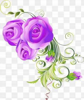Floral Design - Cut Flowers Ornament Floral Design Art PNG