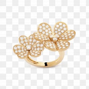 Finger Ring - Earring Pearl Jewellery Colored Gold PNG