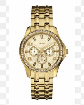 Watch - Guess Watch Clock Bracelet Jewellery PNG