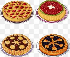 Pizza Elements - Apple Pie Tart Cherry Pie Blueberry Pie Strawberry Pie PNG