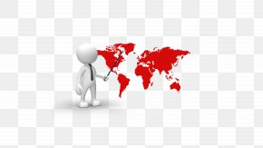 White Villain World Map - Paper World Map Globe Wall Decal PNG