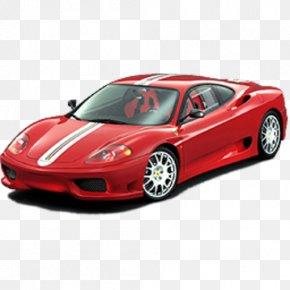 Sports Car - 2003 Ferrari 360 Modena Ferrari F430 Car Ferrari F355 PNG