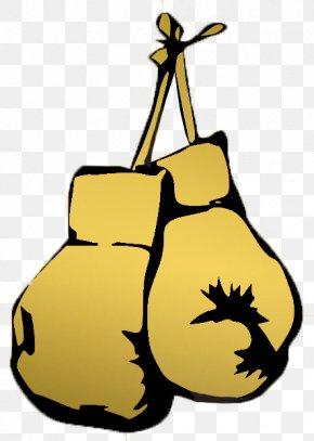 Boxing - Boxing Glove Golden Gloves Clip Art PNG