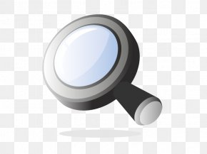Vector Magnifying Glass - Magnifying Glass 3D Computer Graphics PNG