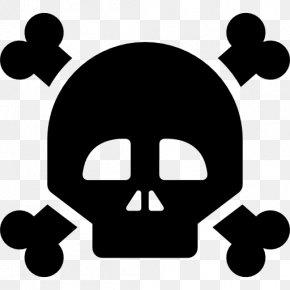 Skull - Skull And Crossbones Skull And Bones PNG