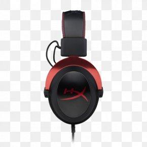 Headphones - Kingston HyperX Cloud II Headphones 7.1 Surround Sound PNG