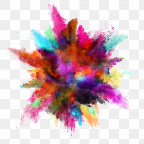 Dust Color - Color Explosion Stock Photography White Royalty-free PNG
