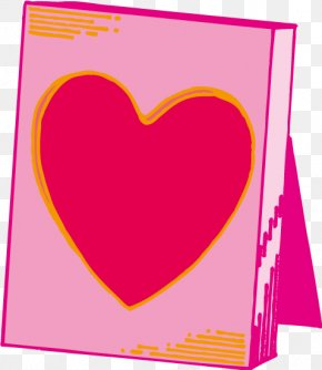 Pink Love Frame Vector - Pink PNG