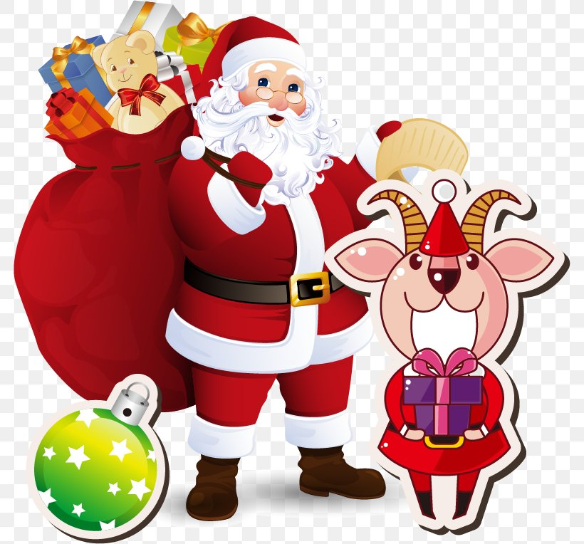 Santa Claus Christmas Clip Art, PNG, 782x764px, Santa Claus, Befana, Christmas, Christmas Decoration, Christmas Eve Download Free