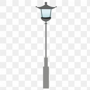 Exquisite Street Light - Street Light Cartoon Lamp PNG