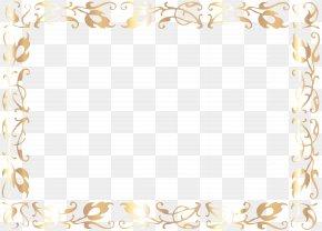 Border Deco Frame Clip Art Image - Clip Art PNG