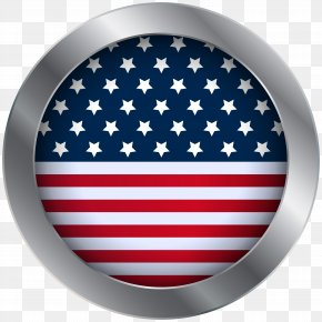 American Oval Flag Clip Art Image - Flag Of The United States Independence Day PNG