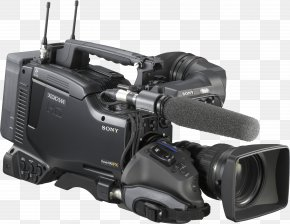 Video Camera Image - Sony Video Camera XDCAM Charge-coupled Device PNG