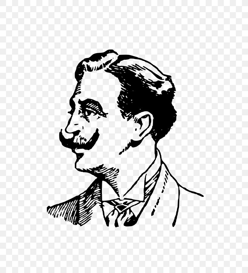 Moustache Man Clip Art, PNG, 636x900px, Moustache, Art, Beard, Black And White, Drawing Download Free