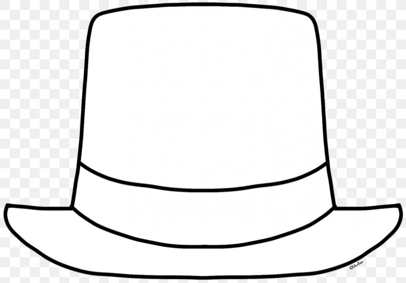 Top Hat Black And White Clip Art Png 830x579px Hat Black And