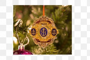 Petty Coin - Christmas Ornament Chief Petty Officer Santa Claus PNG