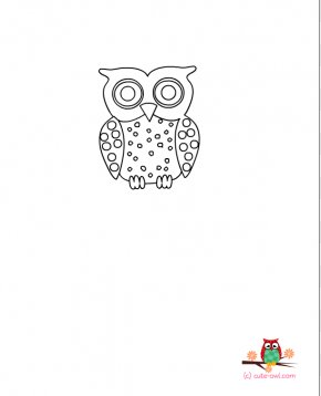 Cute Baby Owl Coloring Pages - Owl Babies Coloring Book Little Owl Clip Art PNG