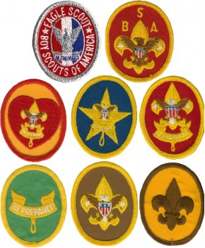 Merit Badge Cliparts - Ranks In The Boy Scouts Of America Eagle Scout Cub Scouting PNG