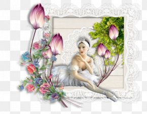 Fairy - Floral Design Fairy Flowering Plant Picture Frames PNG