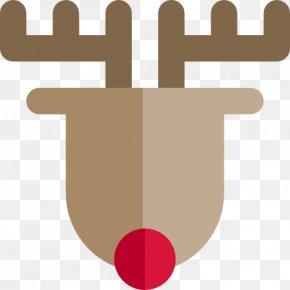 Reindeer - Reindeer Moose Icon PNG