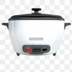 Rice - Rice Cookers Food Steamers Black & Decker Rice Cooker Slow Cookers PNG