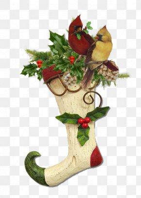 Bouquet Of Flowers - Christmas Candy Cane Santa Claus Clip Art PNG