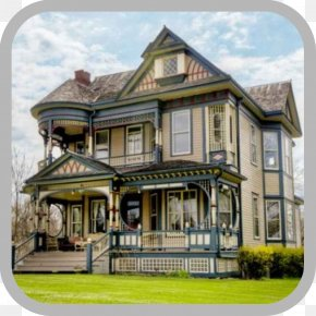 House - American Queen Anne Style Queen Anne Style Architecture Interior Design Services Victorian House PNG