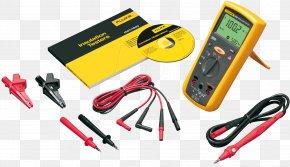 Measuring Instrument - Megohmmeter Multimeter Fluke Corporation Hipot Electronic Test Equipment PNG