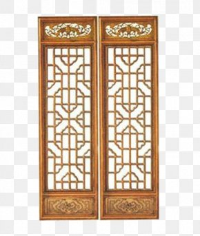 Chinese Antique Carved Wooden Partition Wall - Nanmazhen Window Folding Screen U4e1cu9633u6728u96d5 Wall PNG