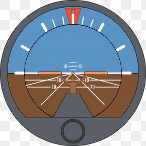 FLIGHT - Airplane Aircraft Flight Attitude Indicator Heading Indicator PNG