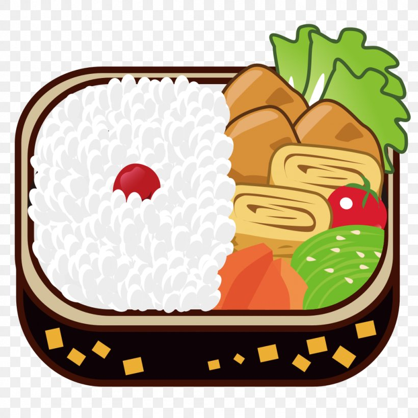 Bento Fast Food Rice Clip Art, PNG, 1024x1024px, Bento, Box, Cuisine, Email, Emoji Download Free