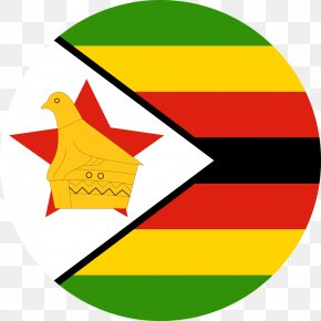 Flag - Flag Of Zimbabwe Zimbabwe Rhodesia National Flag PNG