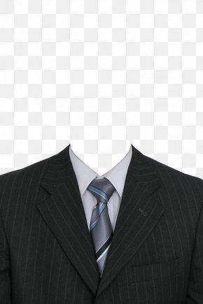 Black Suit - Suit Clothing PNG