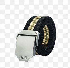 Men's Casual Canvas Belt Belt - Belt Buckle Waist Canvas Fashion PNG