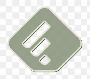 Logo Green - Feedly Icon Line Icon Social Icon PNG