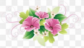Beautifully Green Floral Decorations - Floral Design Flower Decorative Arts Clip Art PNG