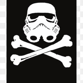 Free Download Of Skull And Crossbones Icon Clipart - Stormtrooper T-shirt Calavera Skull And Bones Skull And Crossbones PNG