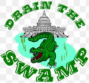 Swamp - Washington, D.C. Drain The Swamp Republican Party Clip Art PNG