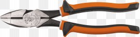 Pliers - Hand Tool Diagonal Pliers Klein Tools Cutting PNG