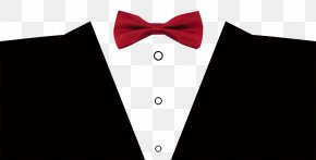 Bow Dress - Tuxedo Bow Tie Font PNG