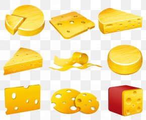 Delicious Cheese And Cheese Illustration - Cheese Royalty-free Euclidean Vector Illustration PNG