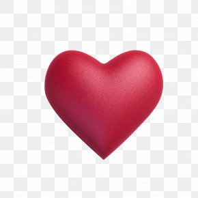 Red Gradient Heart - Light Red Color Euclidean Vector PNG