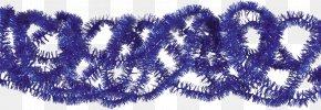 Christmas - Tinsel Christmas New Year Santa Claus Clip Art PNG