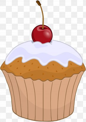 Muffin - Cupcake Muffin Frosting & Icing Birthday Cake Bakery PNG