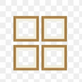 Vector Pattern Wood Grain Frame - Bathroom Wall Decal Decorative Arts Picture Frame PNG