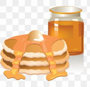 Yellow Cake Slices - Breakfast Pancake Toast English Muffin American Muffins PNG